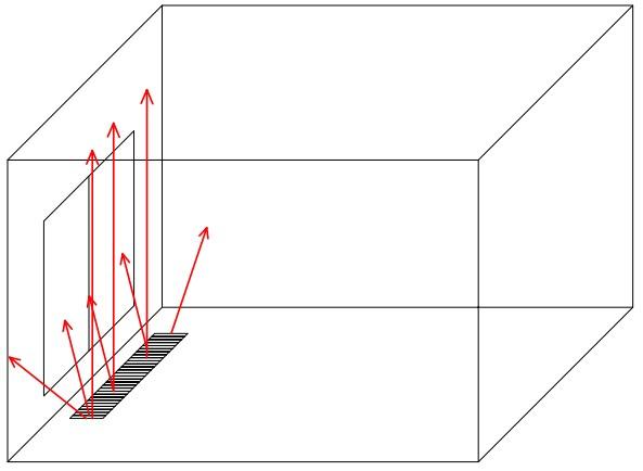 Схема работы инфракрасного внутрипольного конвектора