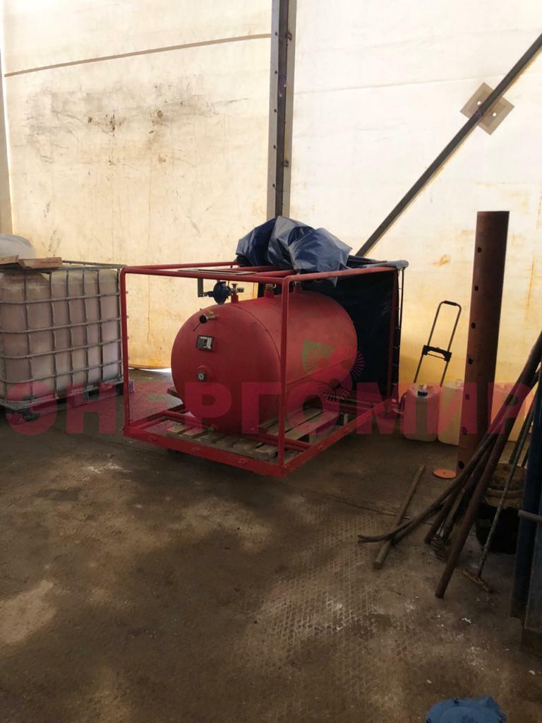Газгольдер для хранения сжиженного газа