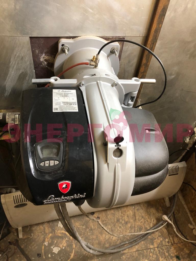 Новая газовая горелка установлена в пристрое