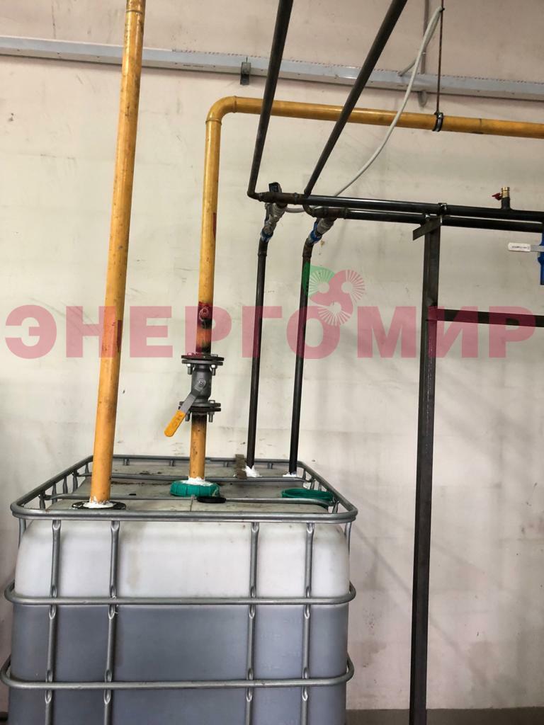 Оперативный резервуар для топлива котельной