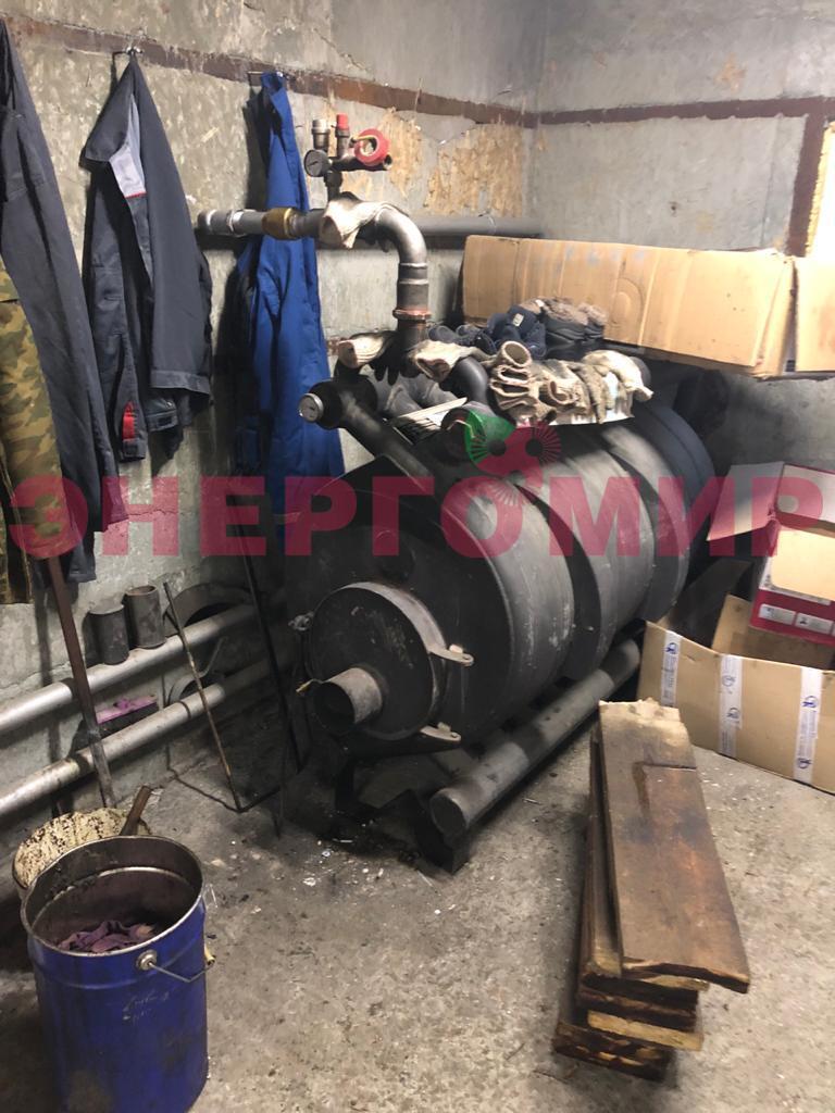 Утилизационная установка попутных газов (котел Бутаков с газовой горелкой)