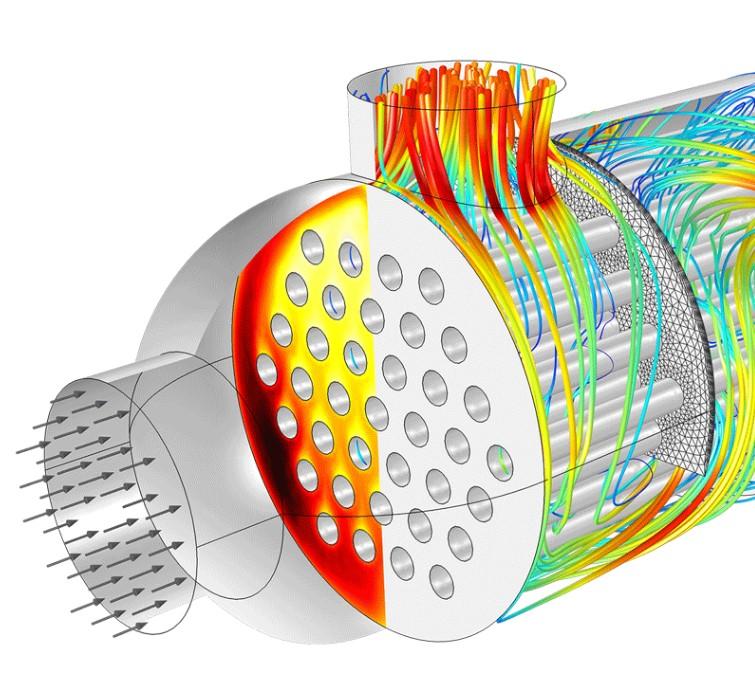 Моделирование тепловых потоков CFD