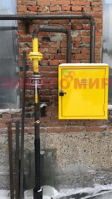 Отсутствие фильтра на газопроводе