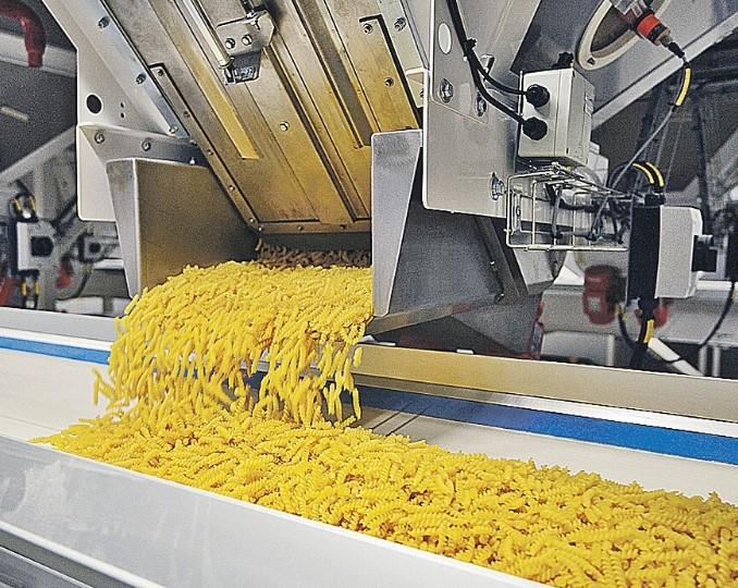 Горелки используют в линиях производства макарон