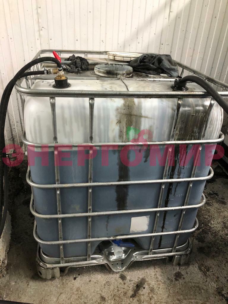 Оперативная топливная емкость для отработанного масла