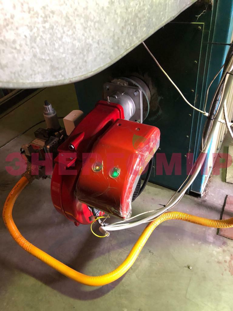 Кейс: Замена неисправного оборудования в теплогенераторной здания склада, г.Екатеринбург
