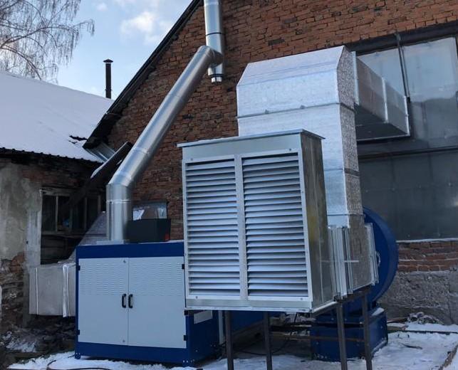 Кейс: Настройка газовой горелки теплогенератора воздушного отопления, г. Миасс