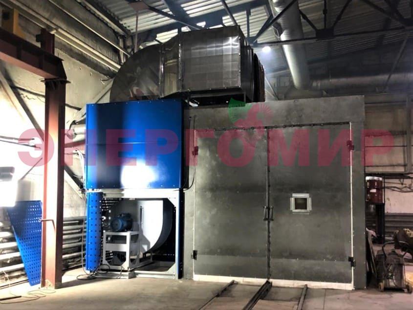 Кейс: теплогенератор для камеры полимеризации, г.Омск