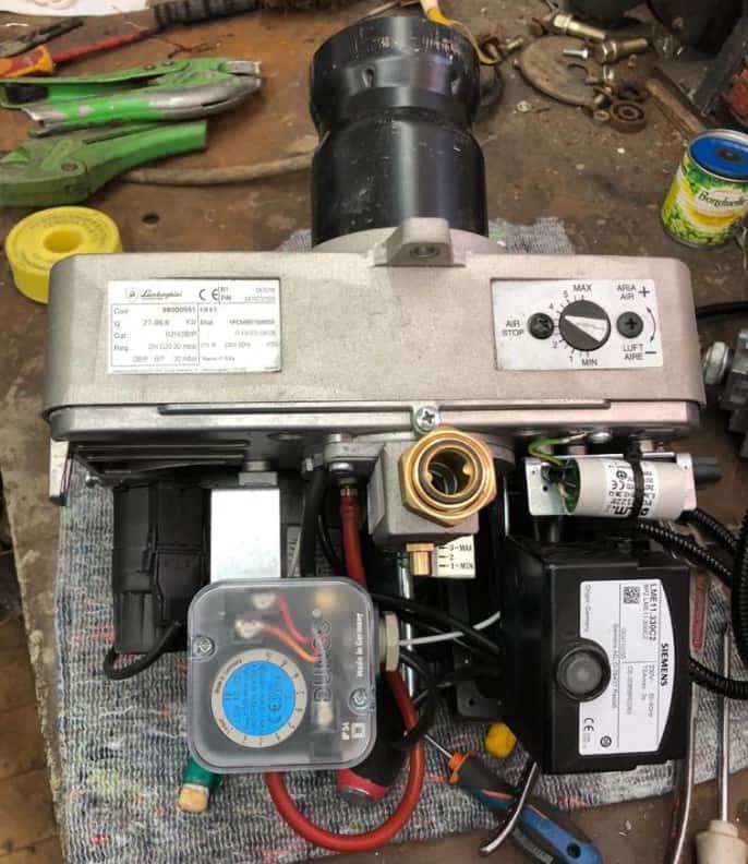 Диагностика и ремонт горелок для котлов и агрегатов